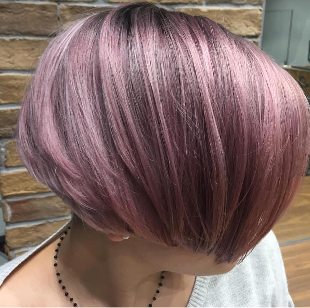 Short Purple Lighted